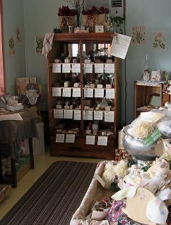 Organic Teas Canada is located in Sandy Hook, Manitoba, Canada and we operate a small gift shop on the front porch.  We sell packaged organic teas, herbs and spices and handmade natural soap made from wholesome truly natural ingredients.