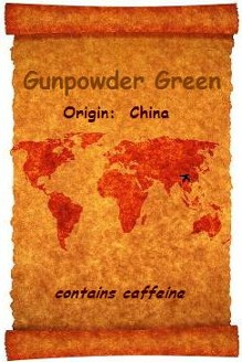 Organic Teas Canada presents an exceptional Gunpowder Green organic and certified fair trade tea which has it's origins in China.  A very delicious, full flavoured cup with tea leaves rolled tightly into little balls which unfurl upon brewing.