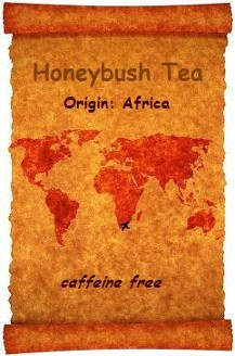 A naturally sweet and fruity tea from the Cape of Good Hope Africa; caffeine-free suitable for all ages including for children; offered by Organic Teas Canada.