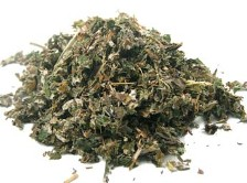 Organic Raspberry Leaf is a fluffy herb often called a woman's herb and is similar in taste to black tea; available at Organic Teas Canada.